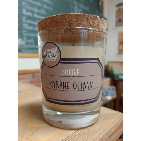 """Bougie """"Myrrhe Oliban"""""""