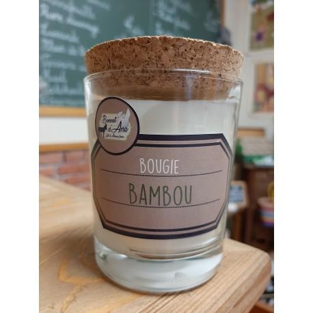 "Bougie ""Bambou"""